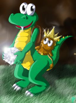 _Croc And The__King Of Gobbos_ by Scourge-Is-Awesome