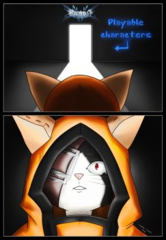 Fanart Blazblue : Finally, Jubei is here ! by Touffe-Touffe
