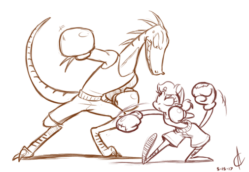 COMM - Boxing Match by Atrox-C