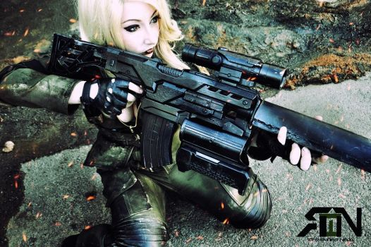 Sniper Wolf Cosplay - Metal Gear Solid by Its-Raining-Neon
