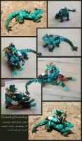 SneakySneaky jointed companion for Hod by angermuffin