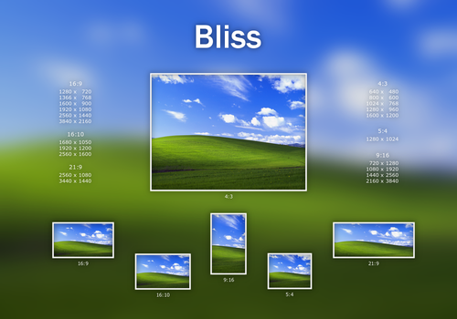 Bliss - Windows XP 15th Anniversary Edition by Mascaloona