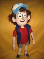My Needle Felted Dipper Pines Plush by CatsFeltLings