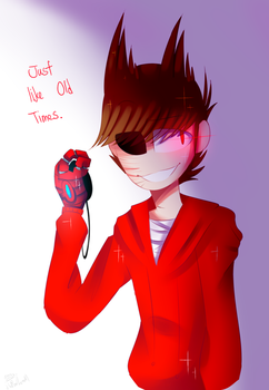 [Eddsworld] just like old times. by HuiRou