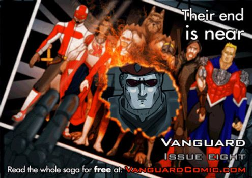 Vanguard Issue Eight Animated Promo by MrHades