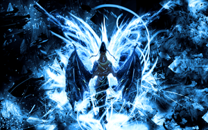 Blue Dragon by coyoteuglytehwicked