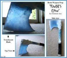 Resin Prop: Fenrir's Claw by Sathiest-Emperor