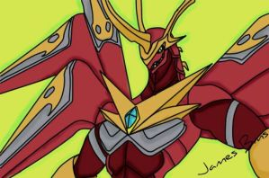 Bakugan Fusion Dragonoid 2 by JamesBakuMaster