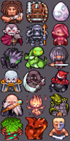 mini unit icons by Nebelstern