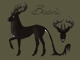 Baeric | Stag | Loner/Witch by MelonHeadGirl