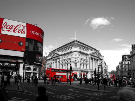 Piccadilly Circus II by OrangeCoffin