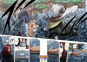 Naruto chapter 477 page 14-15 by Bo-Jin