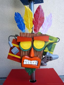 Aku Aku (Crash Bandicoot) by mattmcmanis