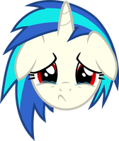 Vinyl Scratch - The club ran out of cider by namelesshero2222