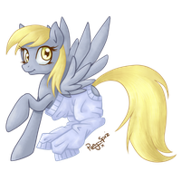 Sweater Derpy by Pony-Spiz