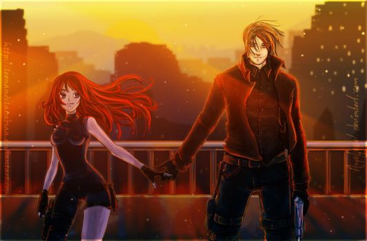 Leon and Claire : Together by LeonandClaireBSAA