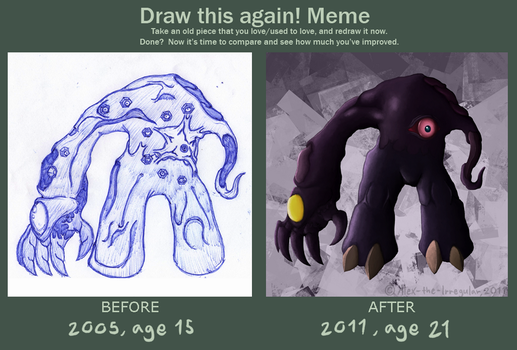 Draw this again meme by Alex-the-Irregular