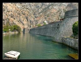The Walls Of Kotor - Montenegro by skarzynscy