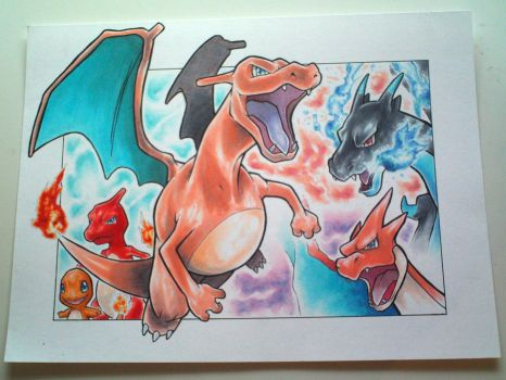 CHARIZARD artwork by studioodin