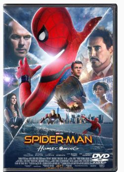 Spiderman homecoming DVD cover #3 by 619rankin