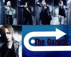 GazeWallpaper Red Version by Visual-KeiRainbows