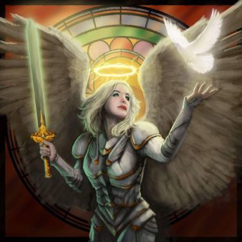 Angel of Swiftness by GraphicGeek