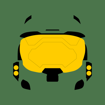 Halo Master Chief Helmet by Garconis