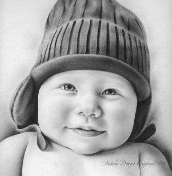 Baby Portrait by Acacia13