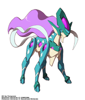 Model Suicune Form by Zohaku