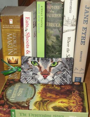 Kitty Bookmark 2 - Completed by EmpyP