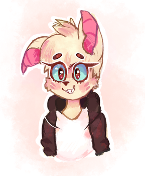 Smol Feara (Gift for Pollovy) by Ping-Ether