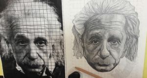 Albert Einstein Portrait- Day 2 by DragonBin