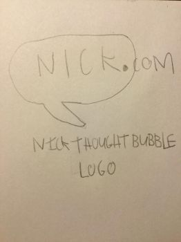 Nick Thought Bubble Logo by CARTOONGUY17