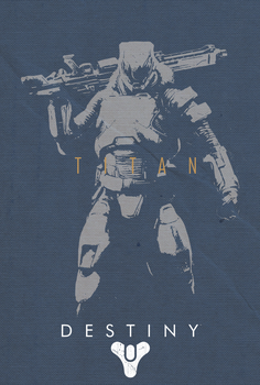 Destiny Guardian - Titan by shrimpy99