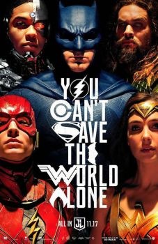 New Justice League Poster by Alexbadass