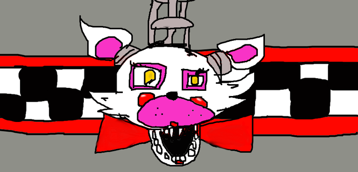 mangle drawing? fnaf 2 by DanykaRice