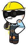 Hey look, an Engie by puccarocks123