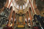 Beautiful Inside of Brugge Cathedral 3 by Lissou-photography