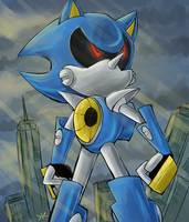 Metal Sonic 2014 by kittoditto