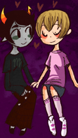 rose and kanaya by OceanSoda