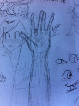 this is supposed to be an arm but it went wrong by invissy