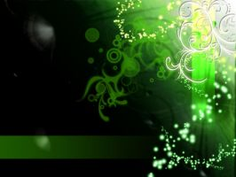 Green Abstract by VirgoT