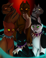 Warriors Villains (Re-remastered) + SPEEDPAINT by DrakynWyrm