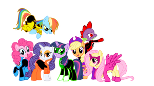 New Guardians of Equestria by Bronyboy