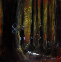 The Slender Man by ARCANEXIII3