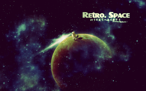 Retro. Space by kmtdsgns