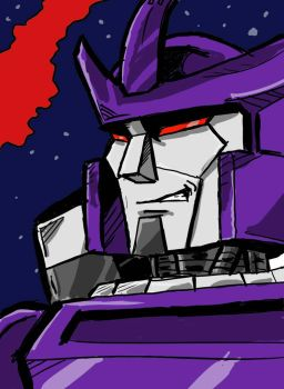 Galvatron RIP Leonard Nimoy by AndyTurnbull