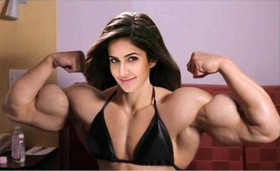 Katrina Kaif Muscled-1 by Turbo99