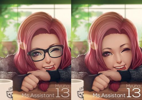 Ms.Assistant Hyuna by magion02