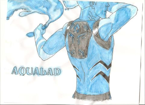 aqualad: moving water by stephthebat